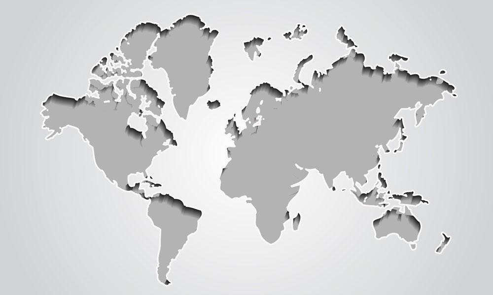 Australia Map Grey.Australia Grey Map Get Education