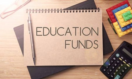 education funding stock image