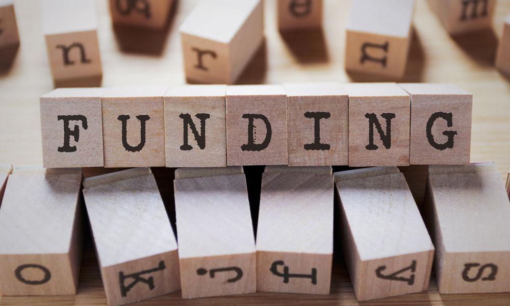 funding stock image
