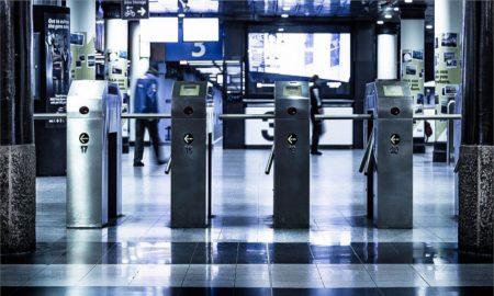public transport ticket gate