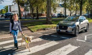 Jaguar I Pace Audible Vehicle Alert System