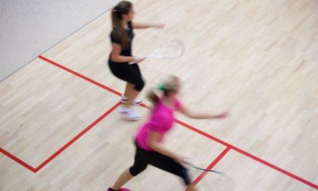 sports women squash