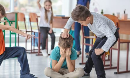 bullying stock image