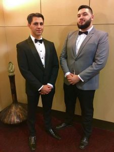 Brothers Jai Cornish-Martin (left) and Malachi Murljacic were both awarded NCP scholarships, and will head to Hong Kong and Thailand respectively. Photo: supplied