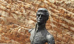Matthew Flinders bust Bedford Park