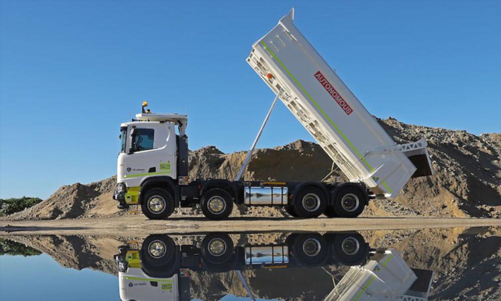 Scania Autonomous truck test Rio Tinto Western Australia. Source: Scania