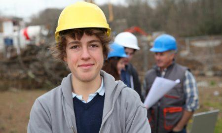 apprentice stock image building