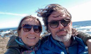 Maja Godlewska and Marek Ranis selfie