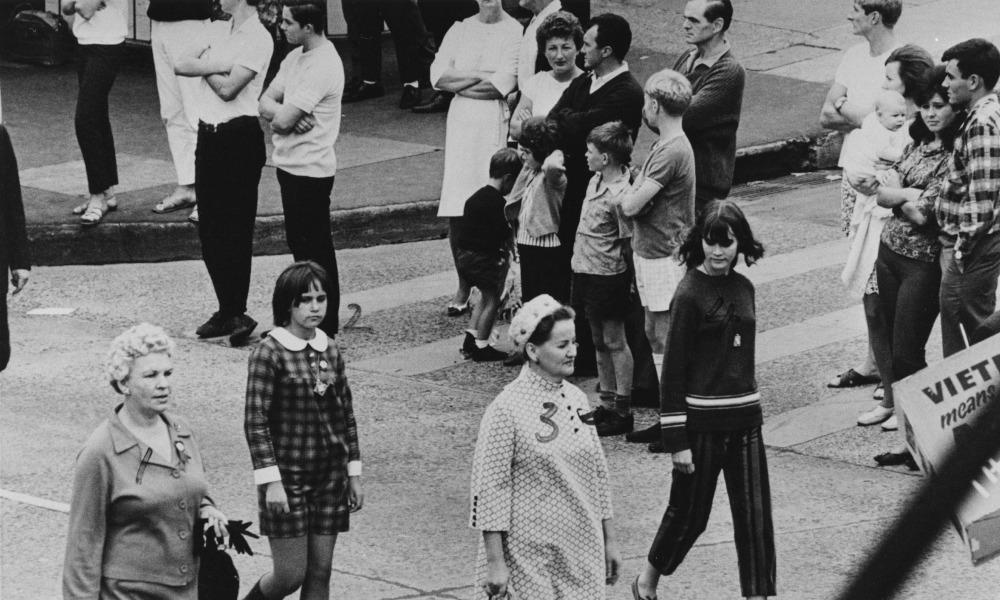 May Day March Wollongong 1966