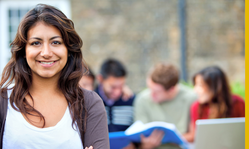 woman student adult stock image