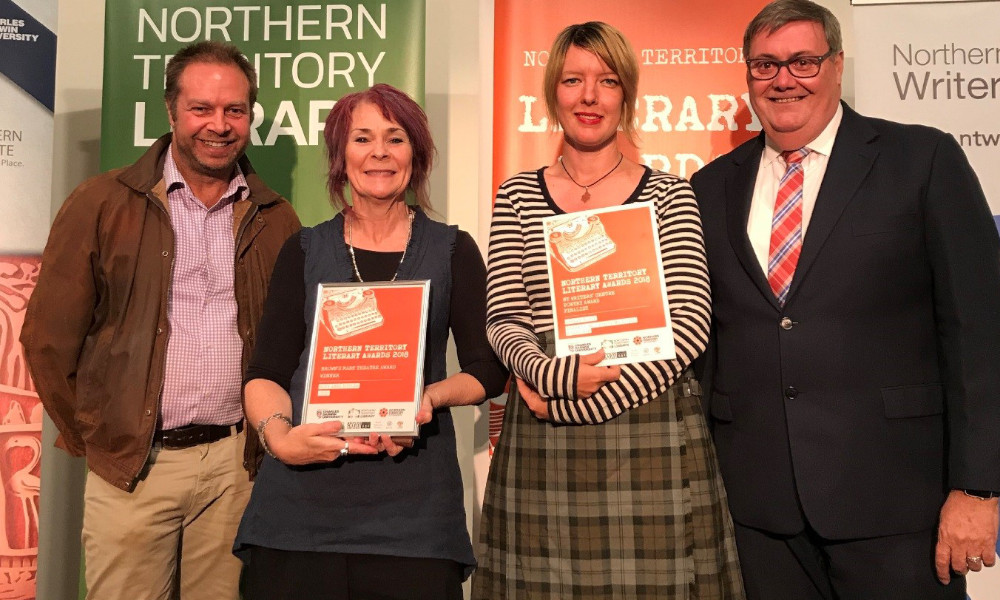 Pic 1 – 2018 Northern Territory Literary Awards Ceremony.