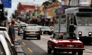 Busy-Melbourne-road