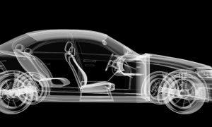 xray car stock image
