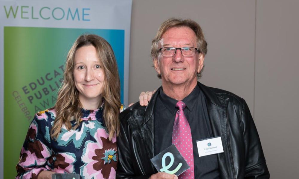 Nicole Forrest_Peter Stannard_Firefly Eduction_EPAA Award