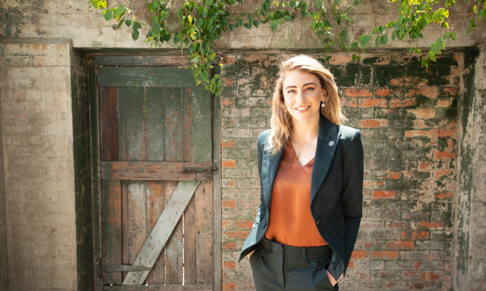 Jessie Hughes, QUT Creative Industries alumnus, has been named a Sir John Monash Scholar for 2020.