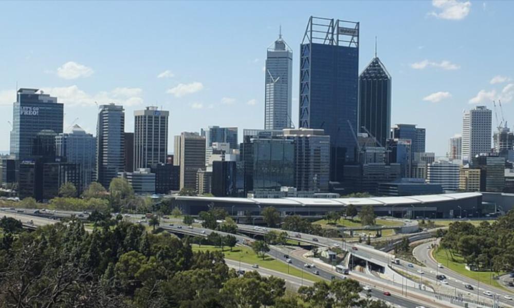 Perth-cityscape-and-roads