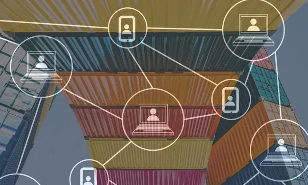 shipping-containers-and-blockchain-double-exposure