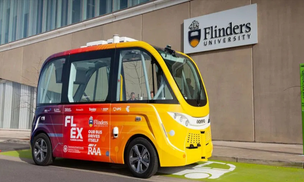 FLEX-shuttle-bus-Flinders-University