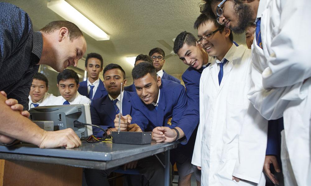CSIRO STEM students