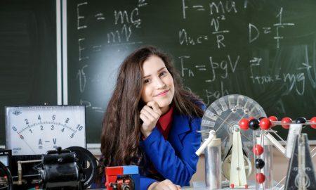 physics student stock image