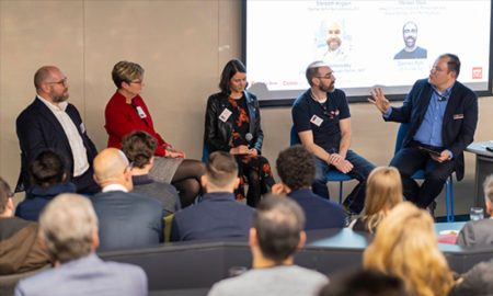 The panel of FinTech experts discussed the challenges and opportunities in the FinTech industry as consumers rapidly adopt the technology and raise their expectations of financial services.