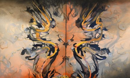 Land of Fire and Flood - 2019 Hadley's Art Prize finalist Dr Megan Walch