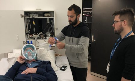 Researchers demonstrate the snorkel masks