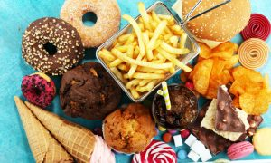 eating too much junk food